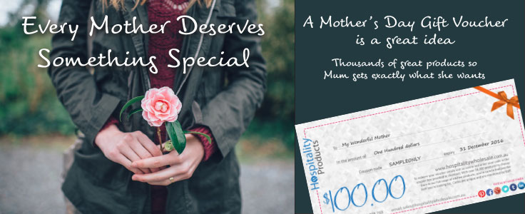 Mother's Day give a Gift Voucher